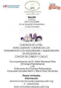 Radioterapia y Quimioterapia, cuidados de la piel, Asociación española de Pacientes de Cáncer de Cabeza y Cuello APC