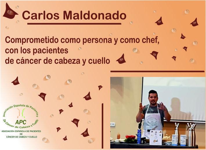 Carlos Maldonado y Cáncer de cabeza y Cuello