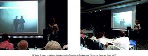 Mª Jesús Romero presidenta de la asociación Española de Pacientes de Cáncer de Cabeza y Cuello