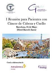 Primera reunión para pacientes de cáncer de cabeza y cuello en Barcelona