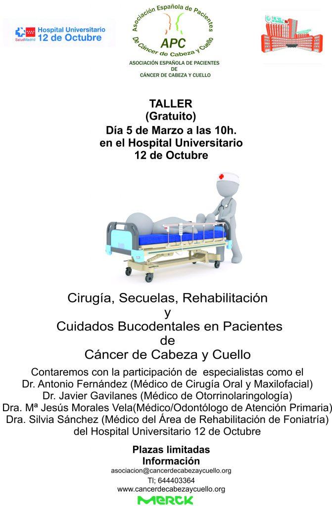 Cáncer de Cabeza y Cuello- Cirugía , posibles secuelas, cuidados bucodentales y rehabilitación