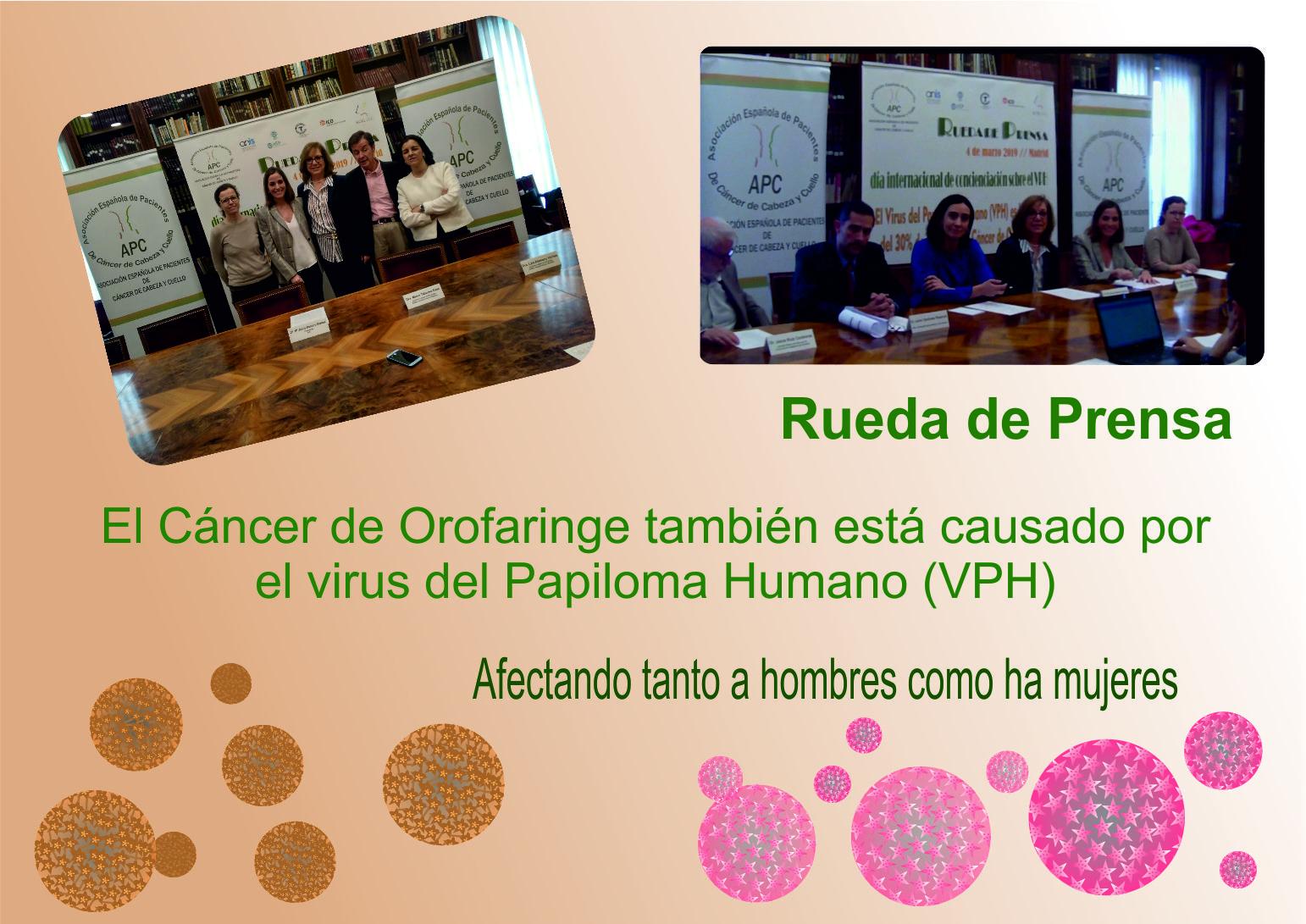 Virus del Papiloma Humano - VPH causa cancer oral